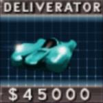 Deliverator - Death Really car